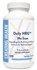 Daily NRG™ No Iron – 120 C